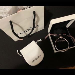 Heart Clip Bracelet Pandora